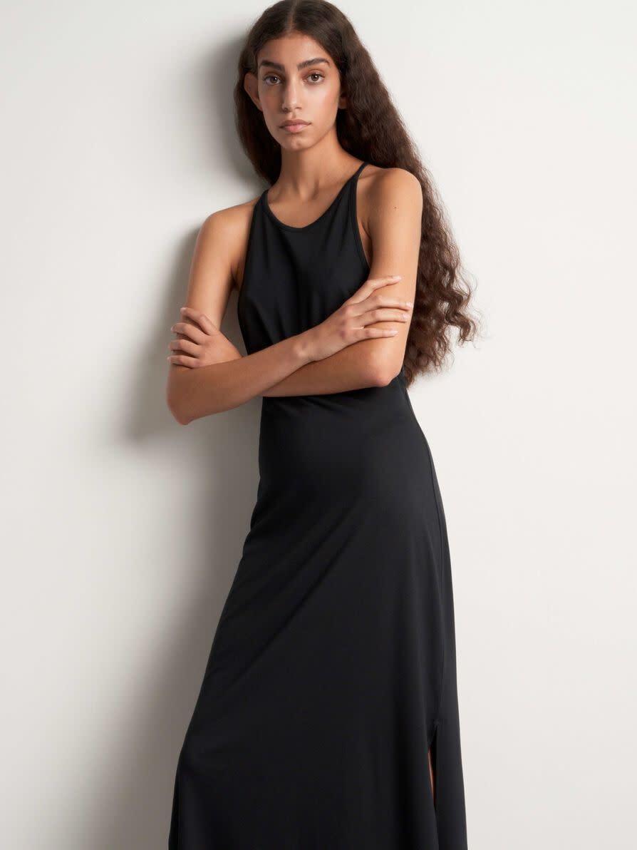 Soli Long Maxi Dress Black-3