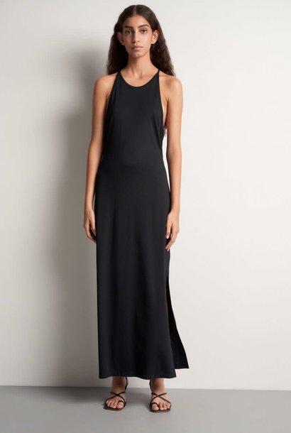 Soli Long Maxi Dress Black