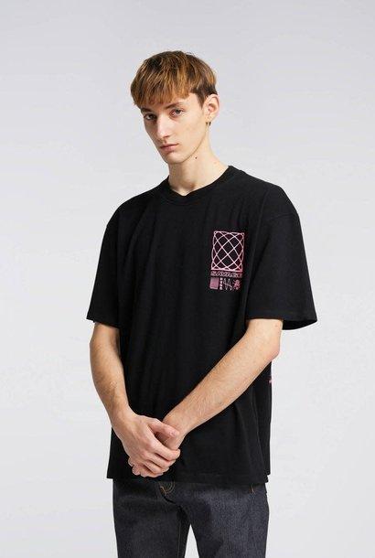 Shinjuku Savage Print T-Shirt Zwart