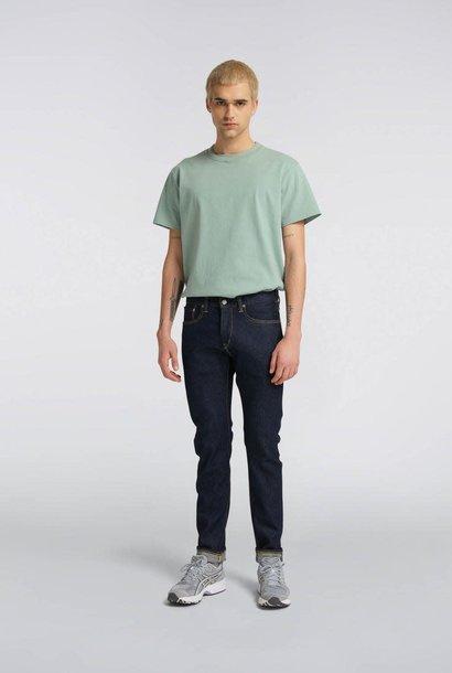 Slim Tapered Kaihara Rinsed Selvedge Jeans