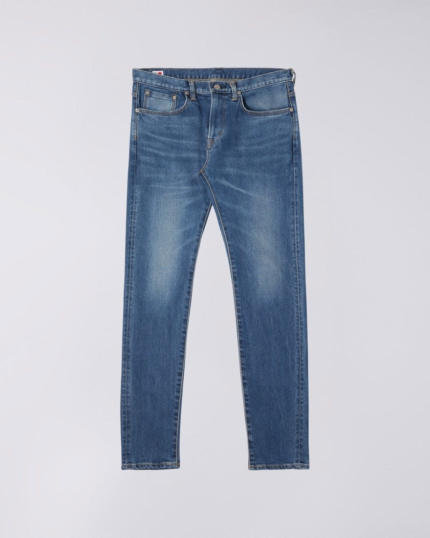 Slim Tapered Mid Used Selvedge Denim Made In Japan-1