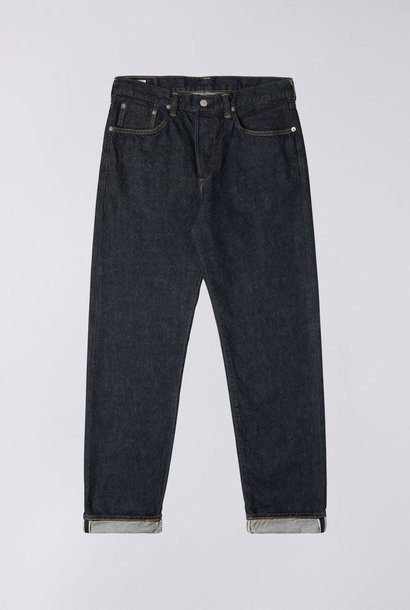 Loose Tapered Rinsed Selvedge Denim Made In Japan