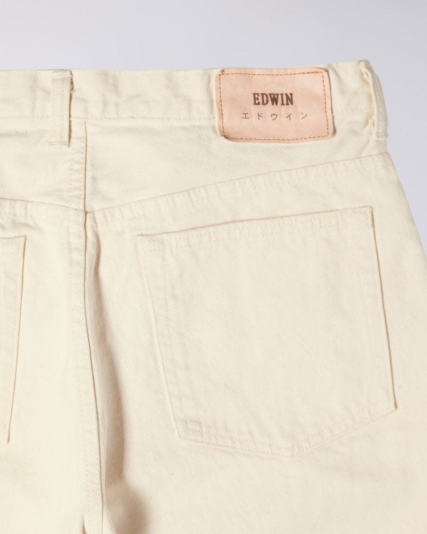 Loose Straight Natural Selvedge Denim Made In Japan-3