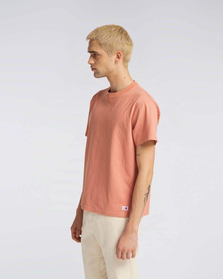 Maruva Orange T-Shirt 100% Japanese Cotton-2