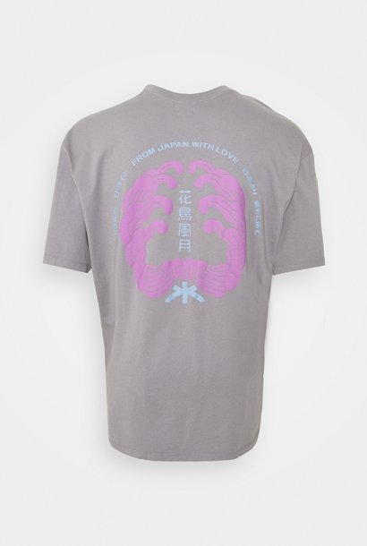 Mondokoro Print T-Shirt Frost Grey