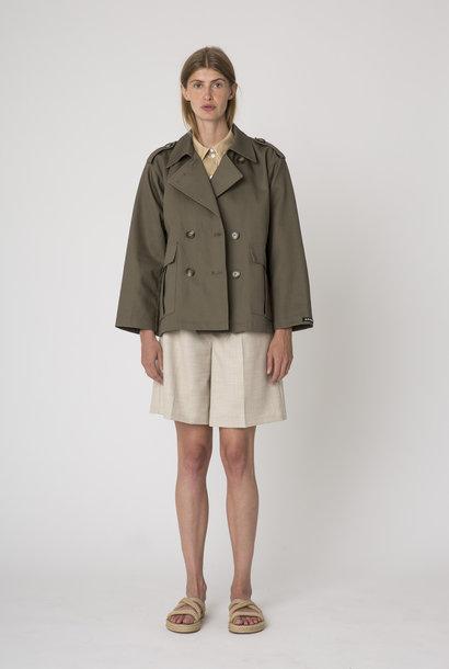 Dakota Short Jacket Cargo Green