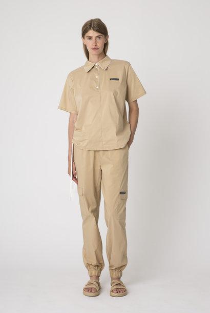 Dominique Shirt Khaki Sand