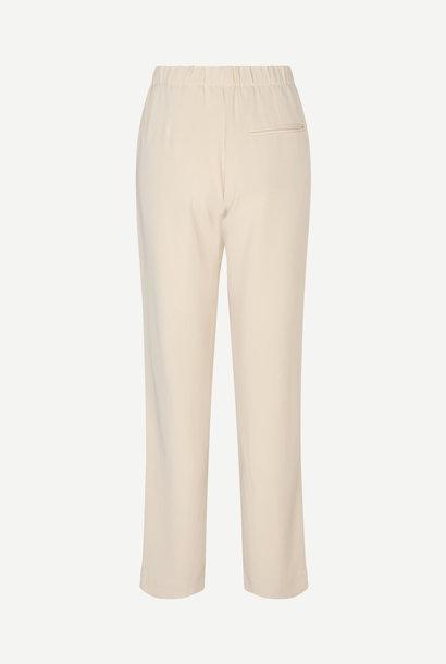 Hoys Straight Pants Quicksand Ecru