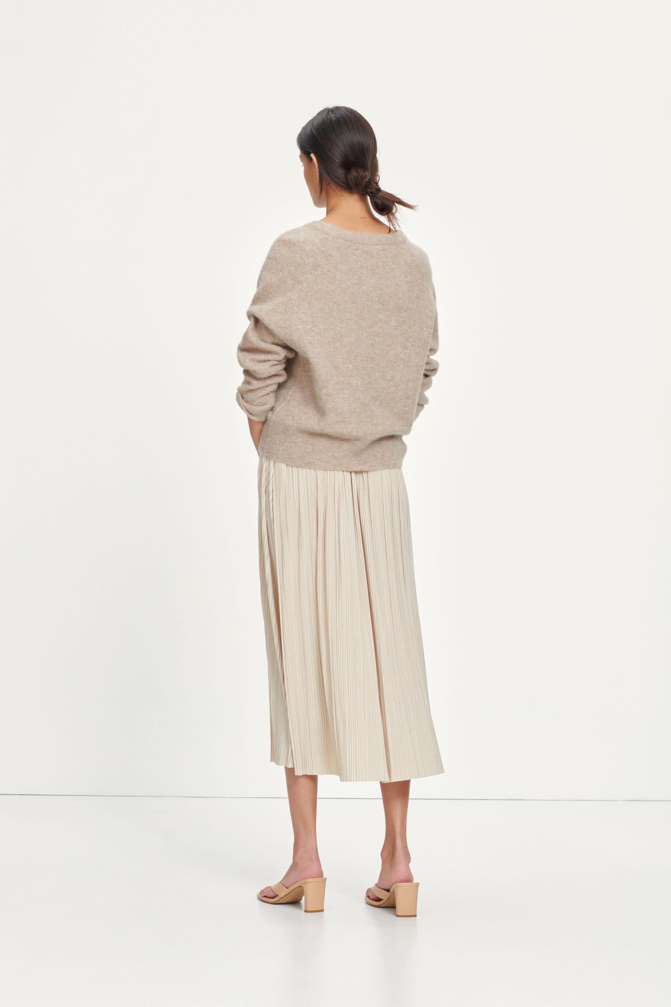 Uma Skirt Quickstand Ecru-2