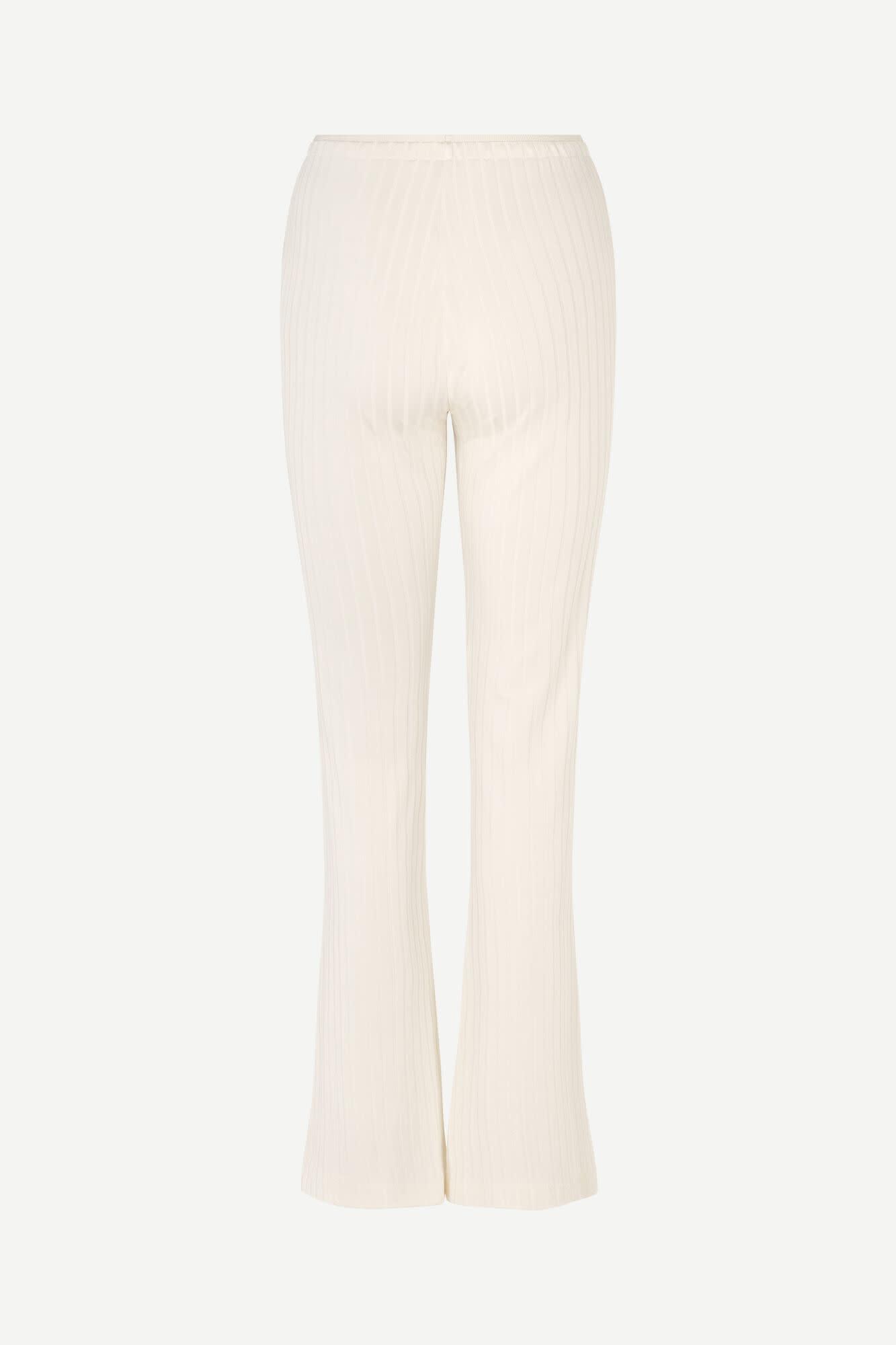 Camoua Eggnog White Trouser-2