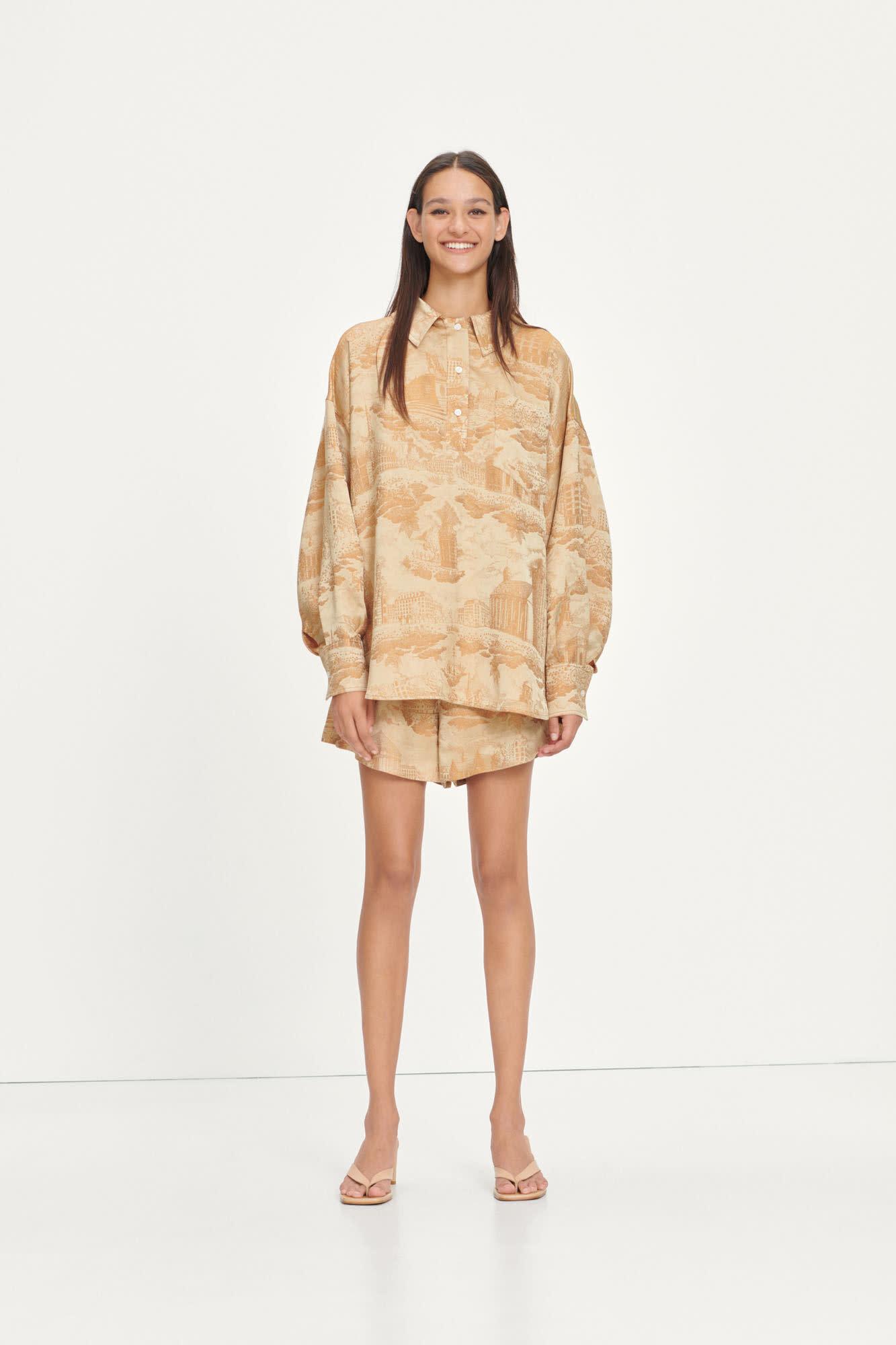 Arielle Sun City Gold Shirt-1