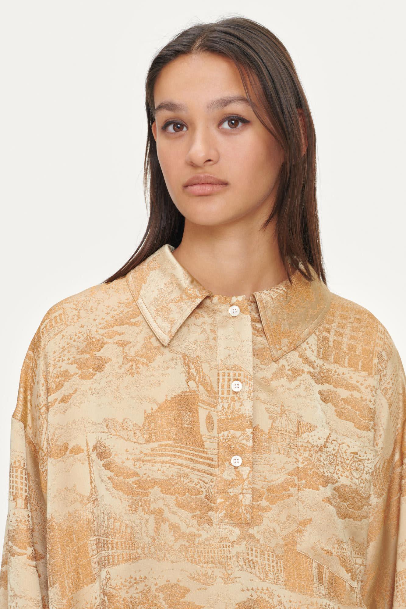 Arielle Sun City Gold Shirt-2