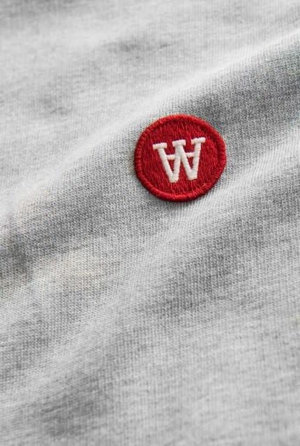 Ian Hoodie Sweatshirt Grey Melange-2