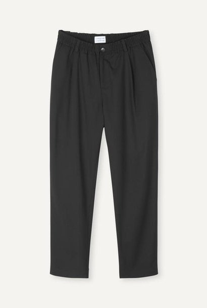 Smoke Loose Fit Pants Black