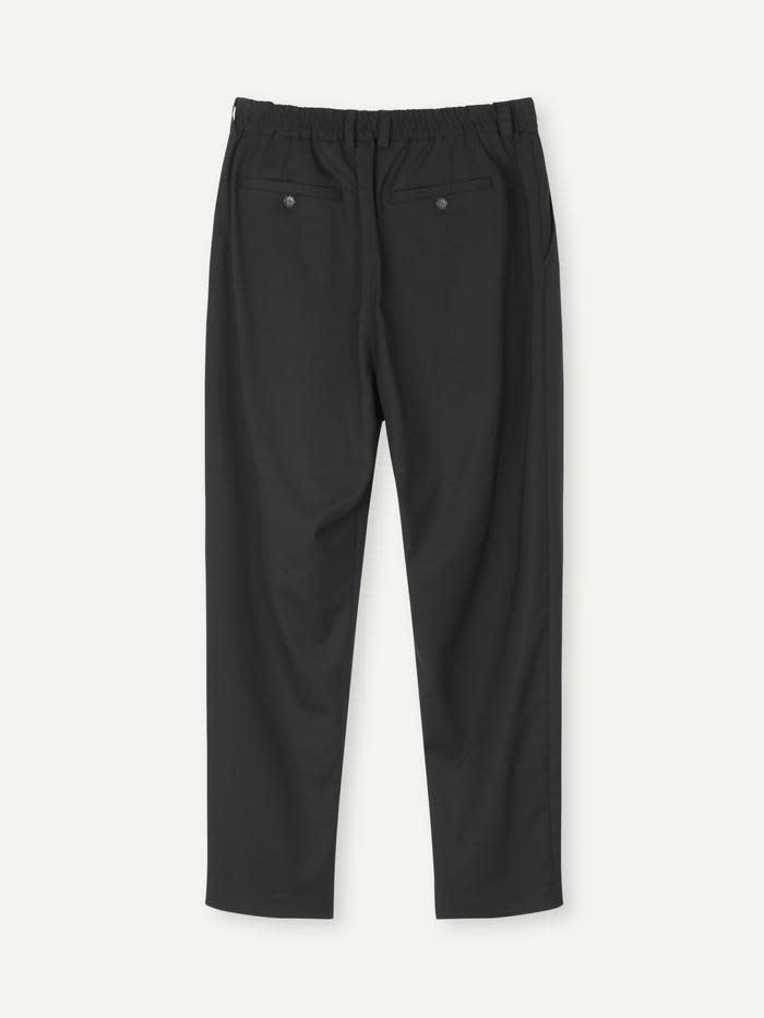 Smoke Loose Fit Pants Black-3