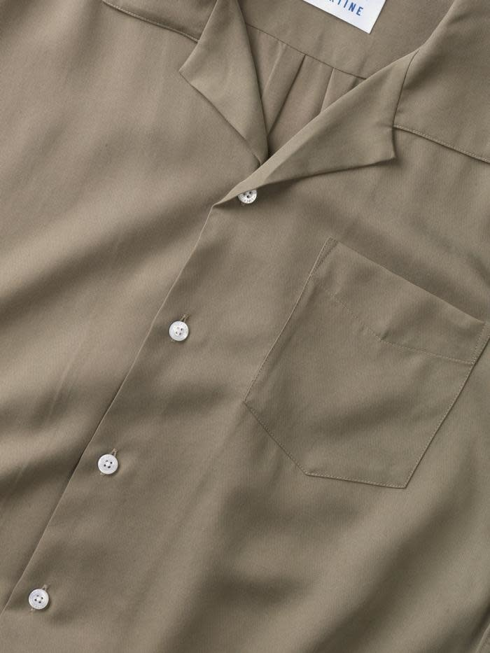 Cave S/S Shirt Olive Green-2