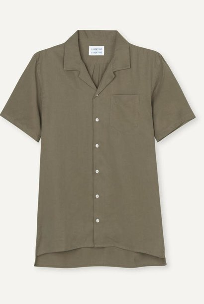 Cave S/S Shirt Olive Green
