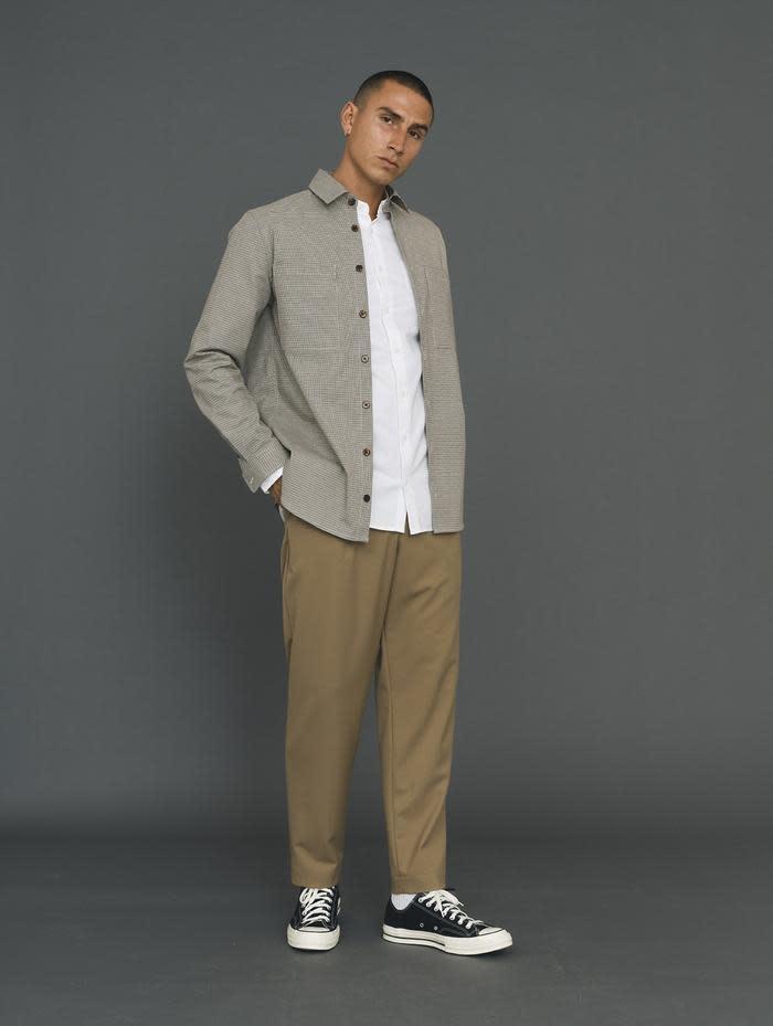 Canyon Brown Checker Shirt-2
