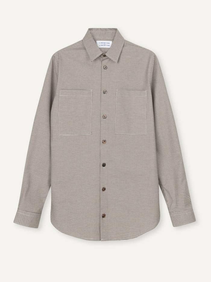 Canyon Brown Checker Shirt-1
