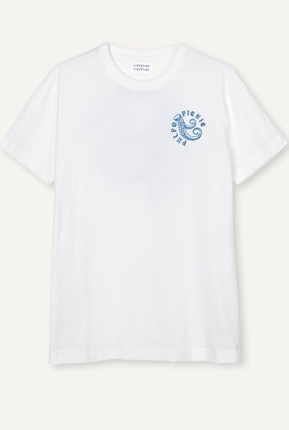 Beat Pulpo Picnic T-Shirt White
