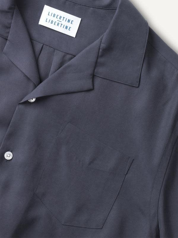 Cave Short Sleeve Shirt Dark Navy-2