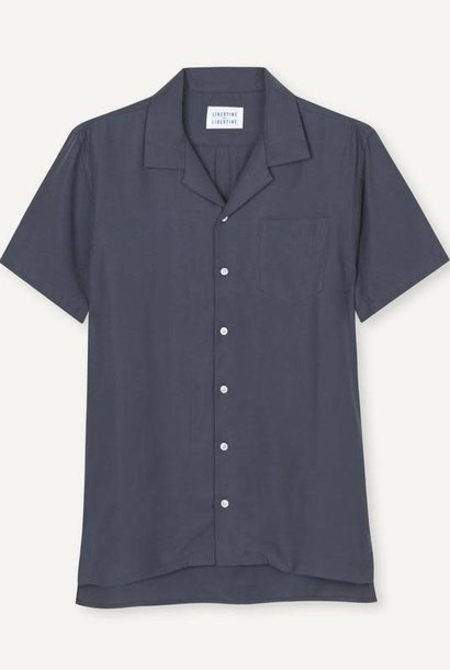 Cave Short Sleeve Shirt Dark Navy