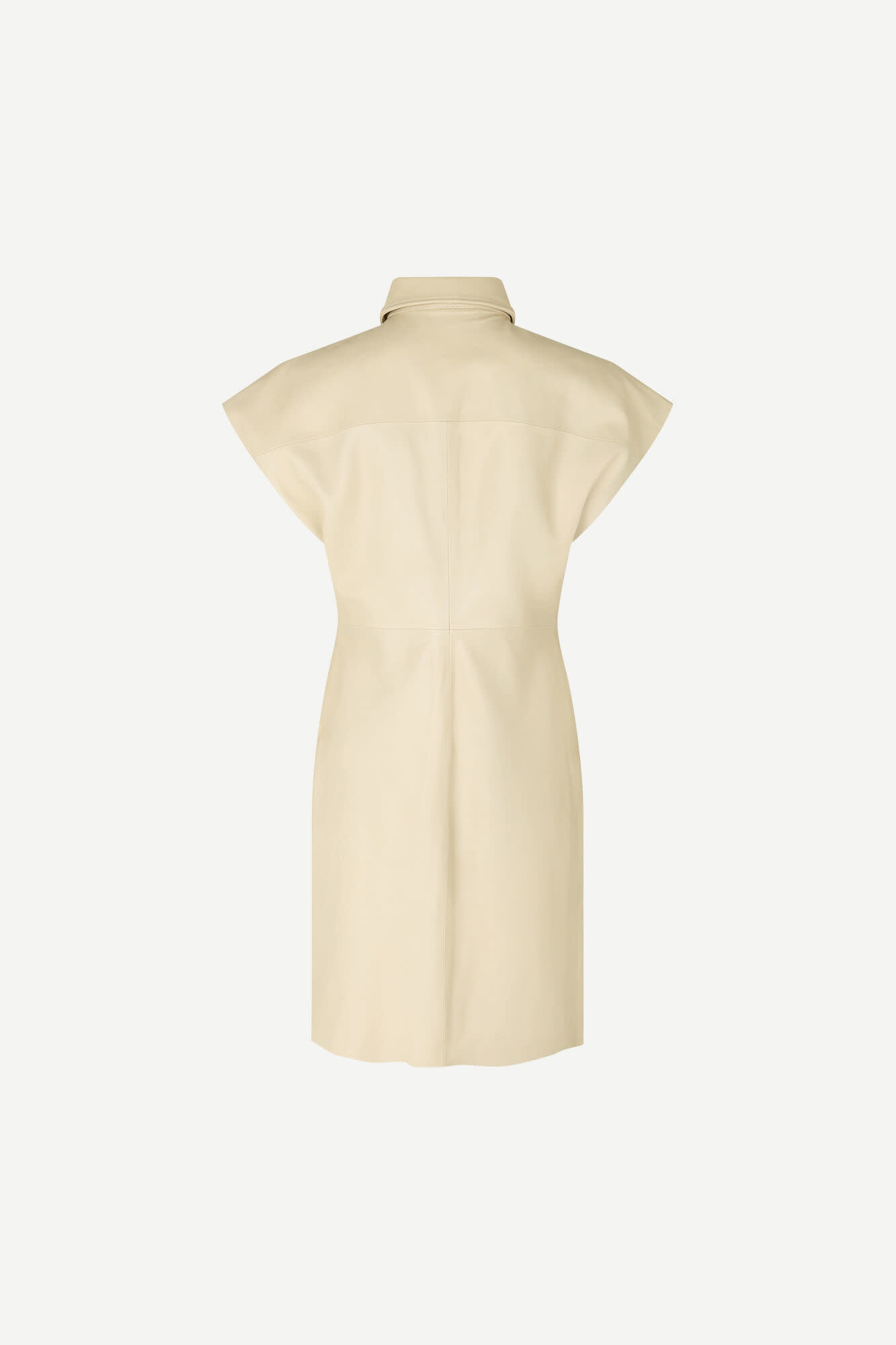 Ariah Rice Brown Leather Dress-1