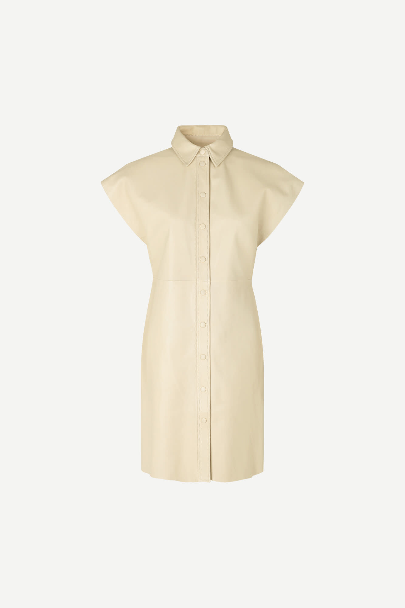 Ariah Rice Brown Leather Dress-2