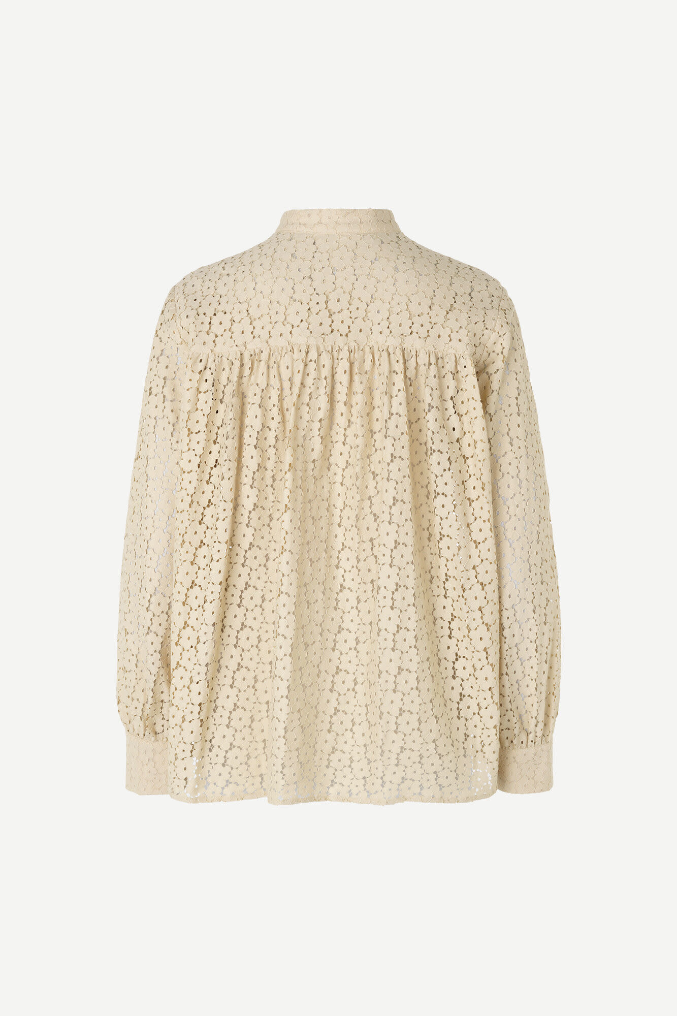 Kiana Brown Rice Embroidery Blouse-2