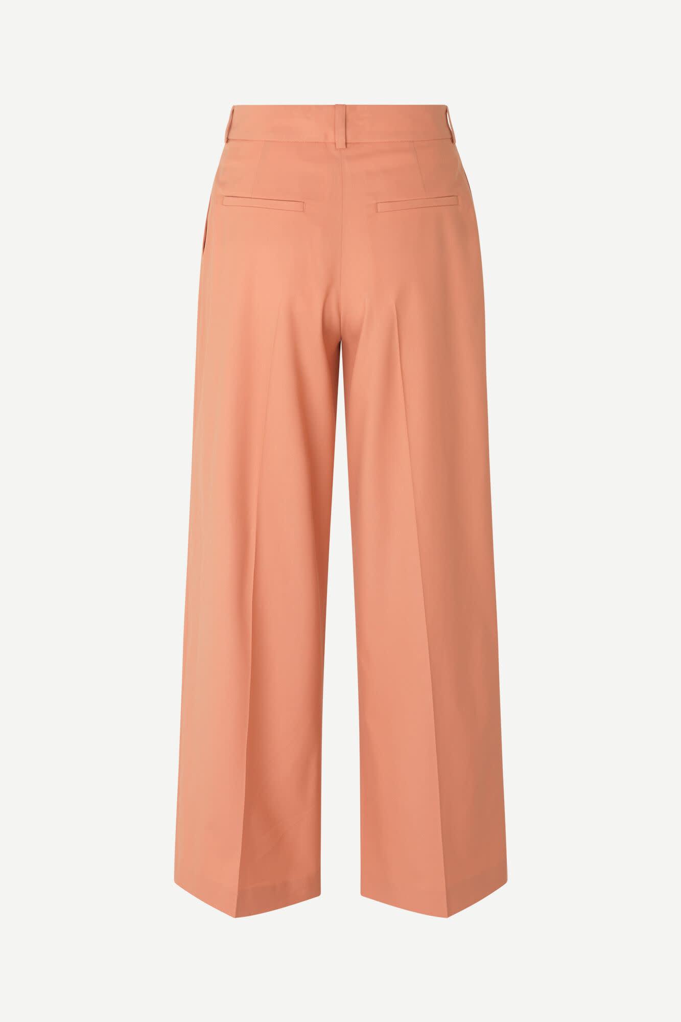 Zepherine Golden Ochre Trousers-1