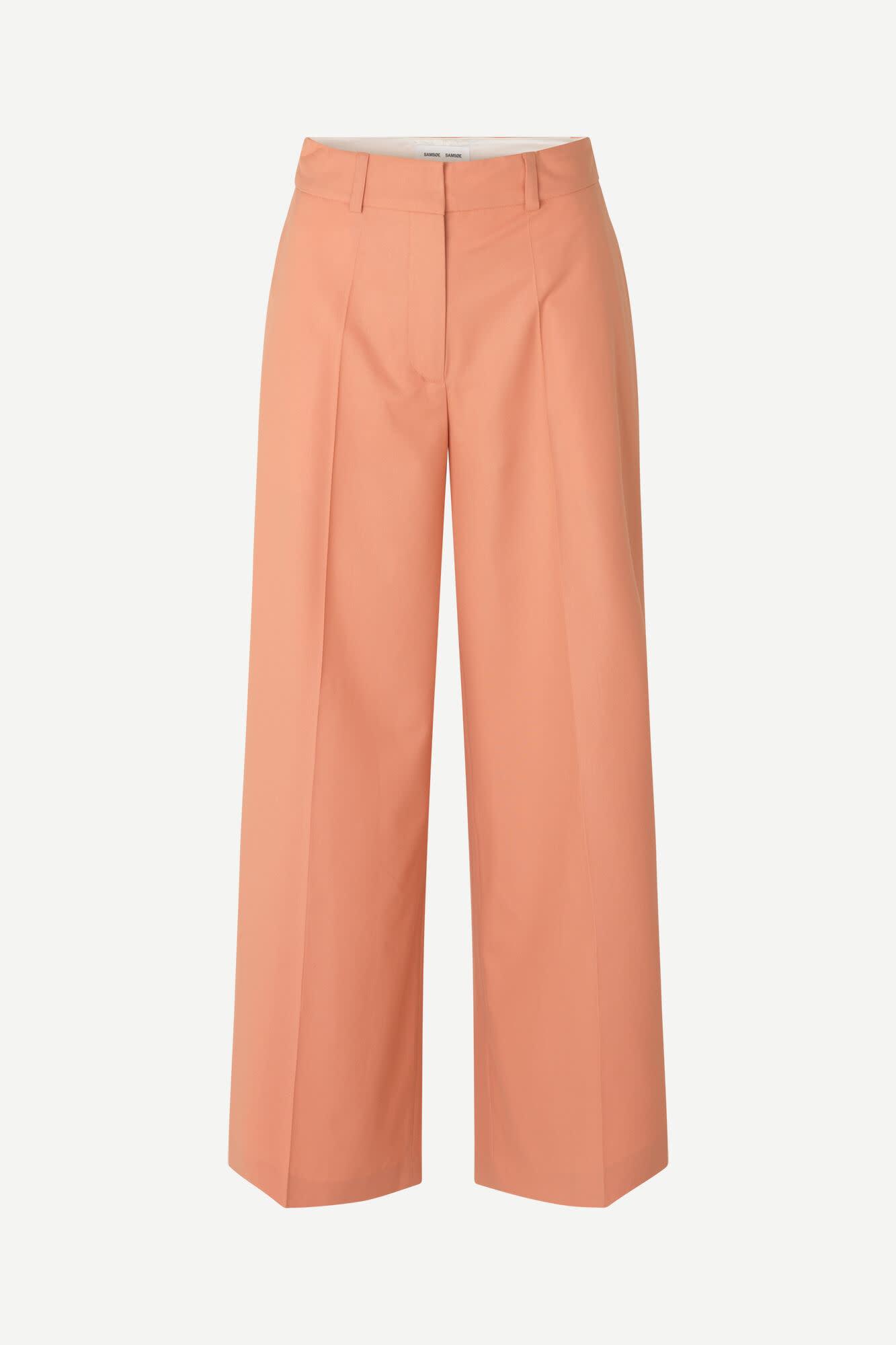 Zepherine Golden Ochre Trousers-2