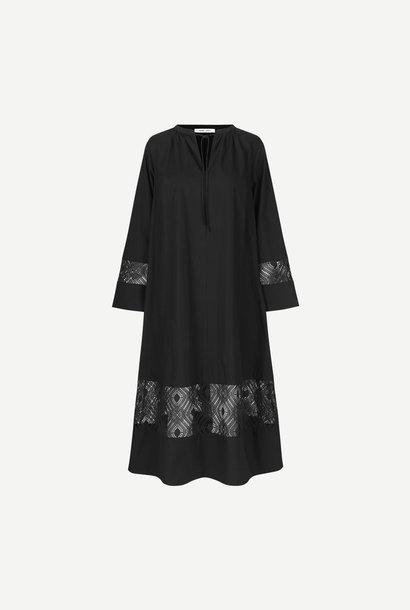 Sahel Black Long Dress
