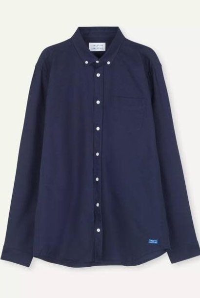 Hunter Peacoat Blue Shirt