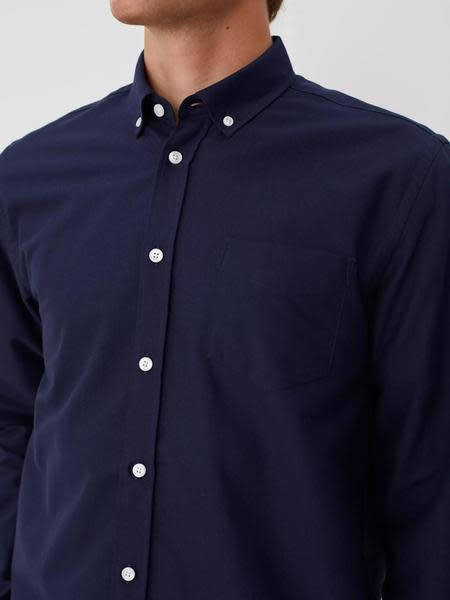 Hunter Peacoat Blue Shirt-2