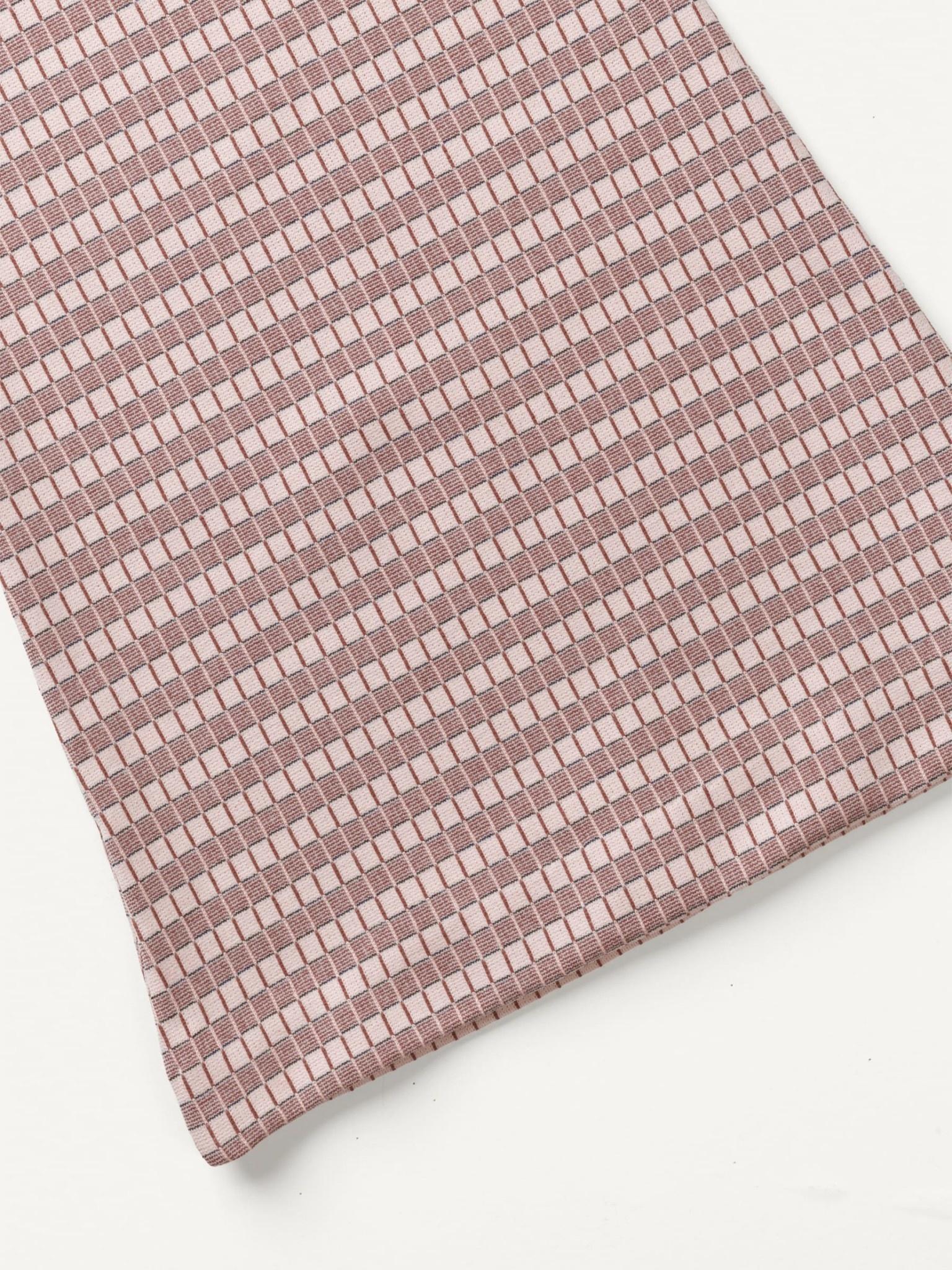 Drone Pants Powder Grid Pink-2