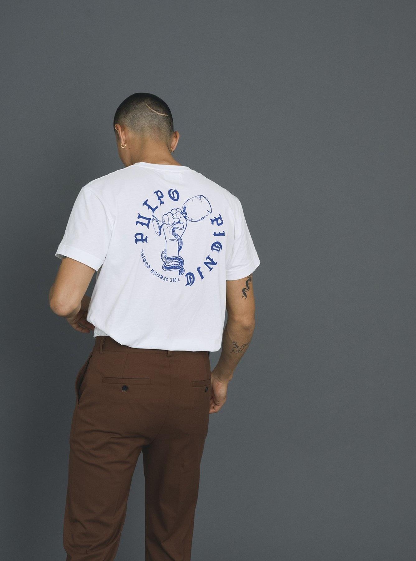 Beat Pulpo T-Shirt White-3