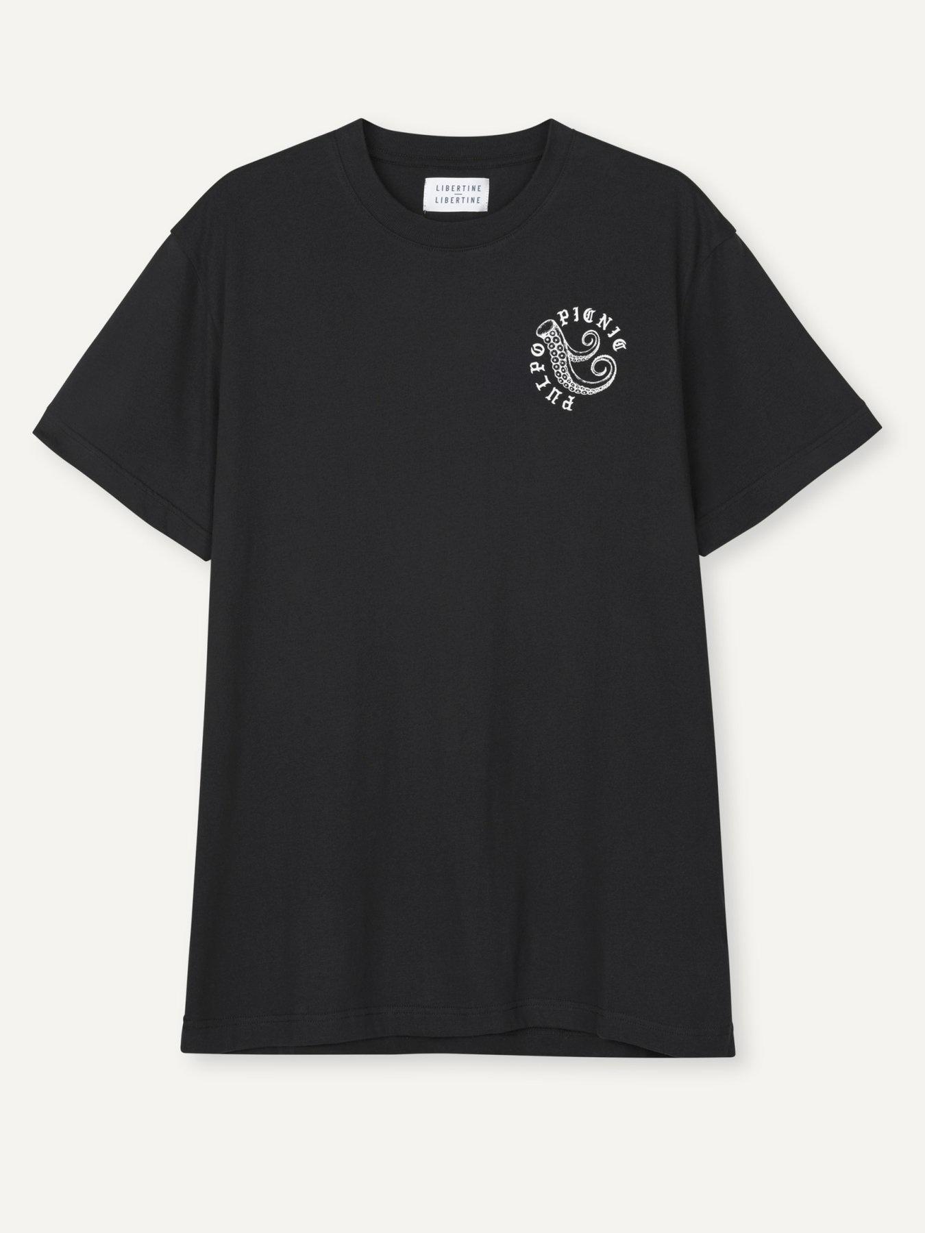 Beat Pulpo Picnic T-Shirt Black-1