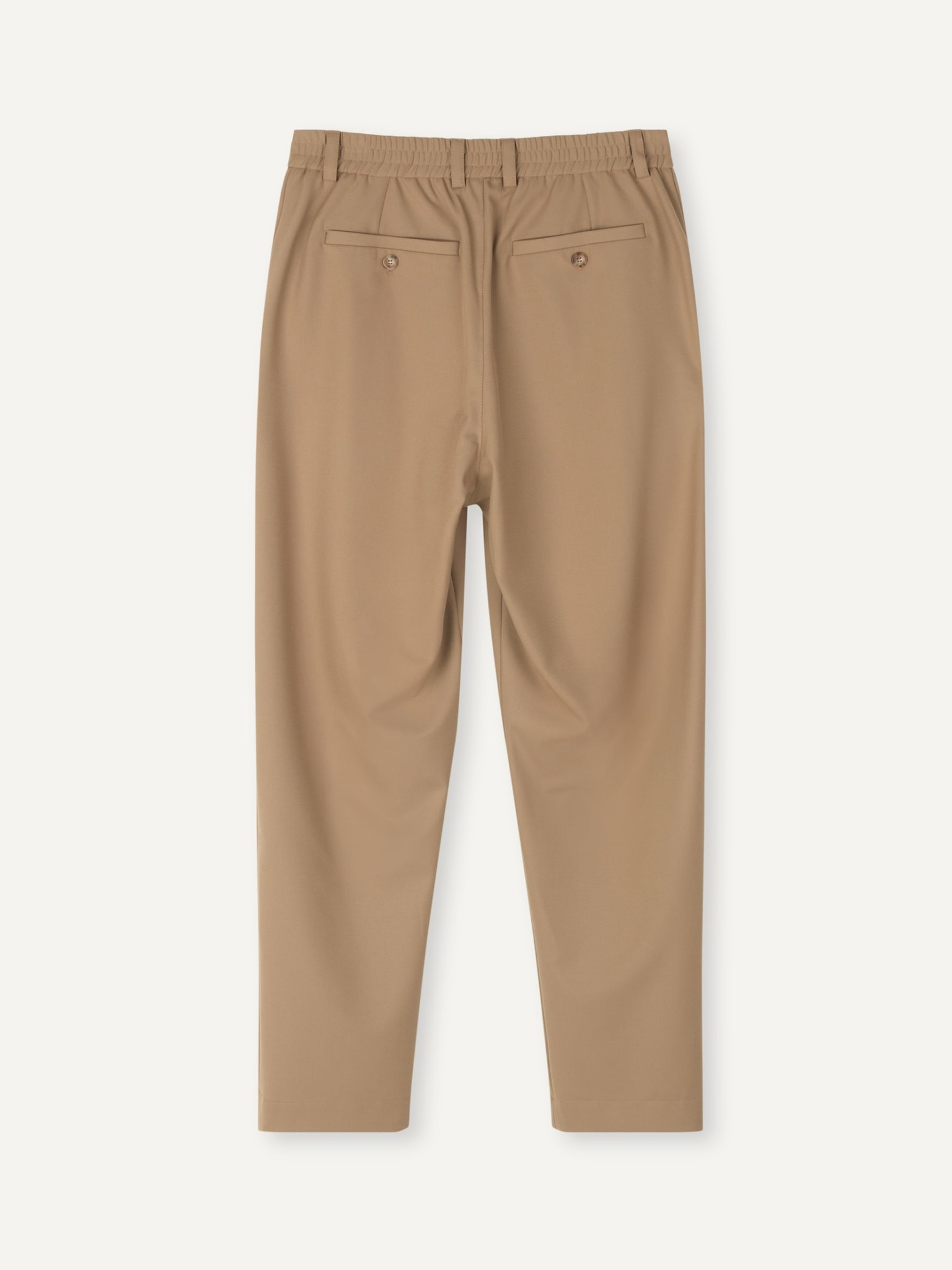 Smoke Loose Fit Pants Khaki-3