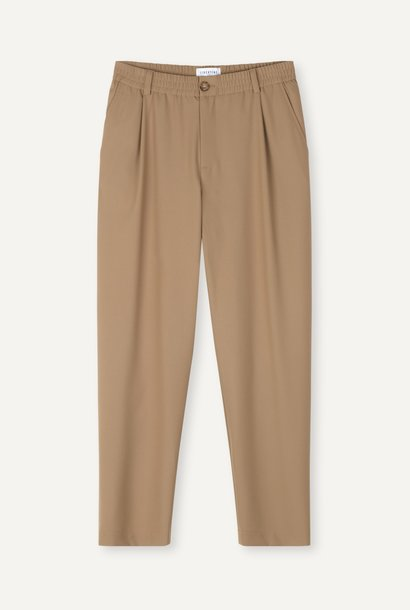 Smoke Loose Fit Pants Khaki