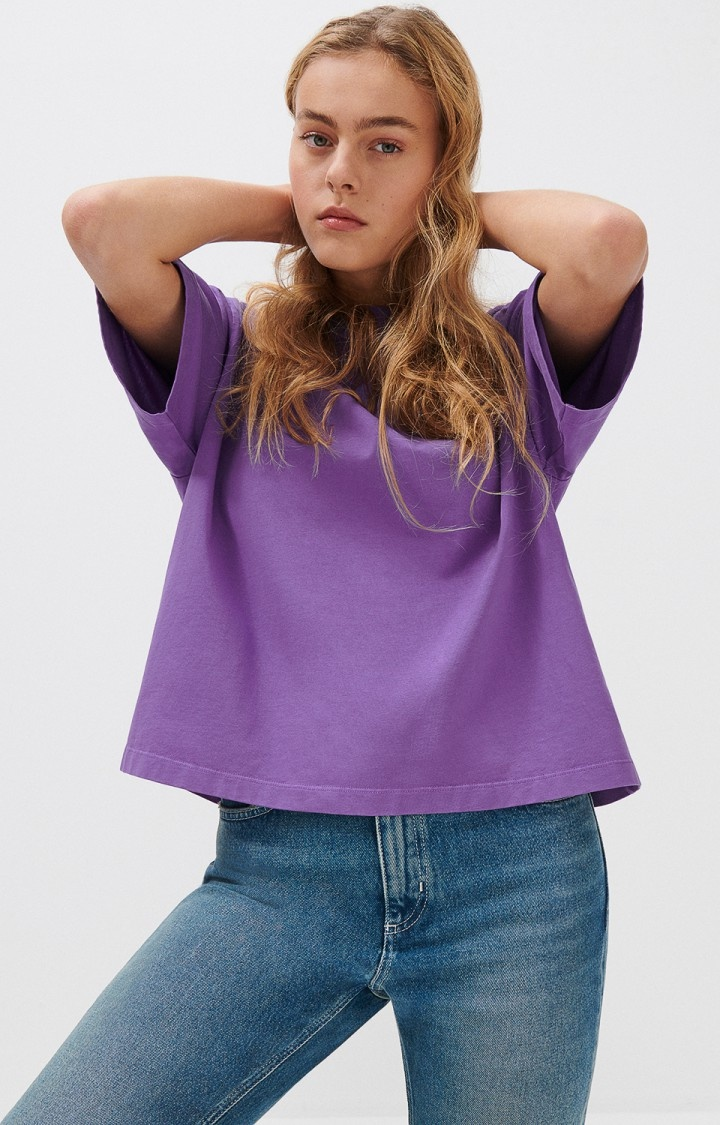 Fizvalley Box T-Shirt Purple-3