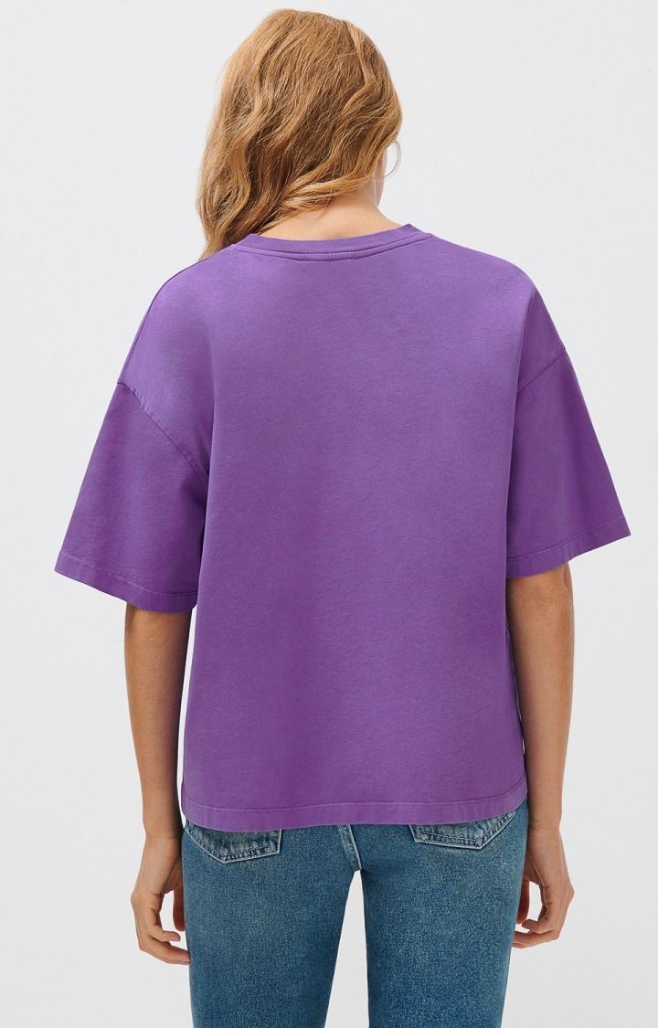 Fizvalley Box T-Shirt Purple-2