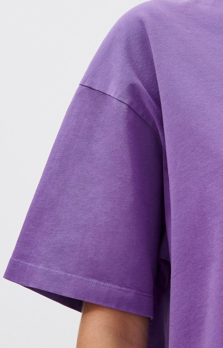Fizvalley Box T-Shirt Purple-4
