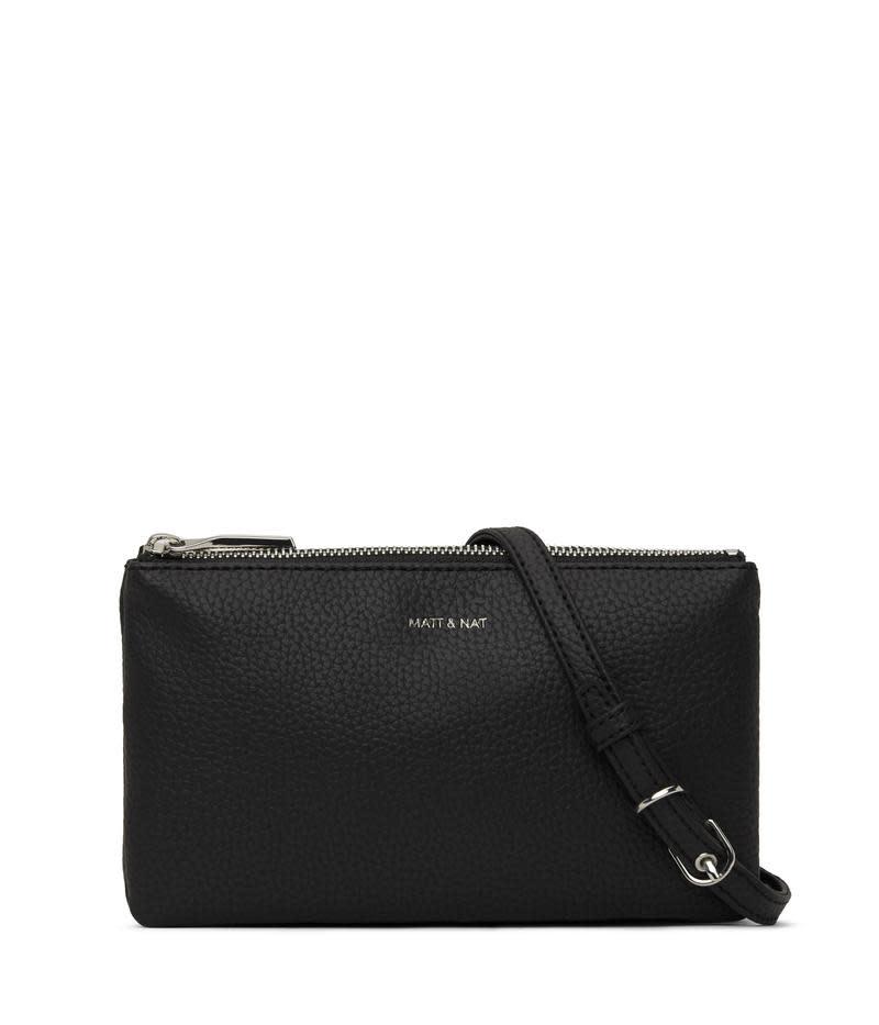 Triplet Crossbody Bag Black-1