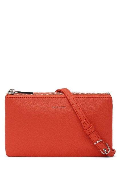 Triplet Crossbody Bag Fleur Red Orange