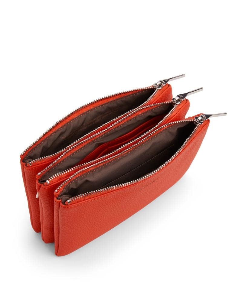 Triplet Crossbody Tas Fleur Rood Oranje-2