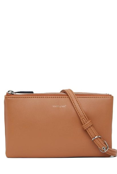 Triplet Crossbody Bag Maple Brown