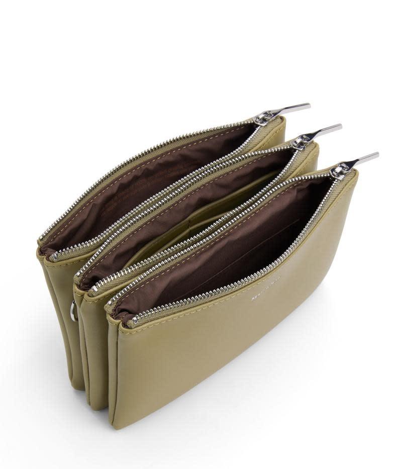 Triplet Crossbody Bag Ivy Green-2