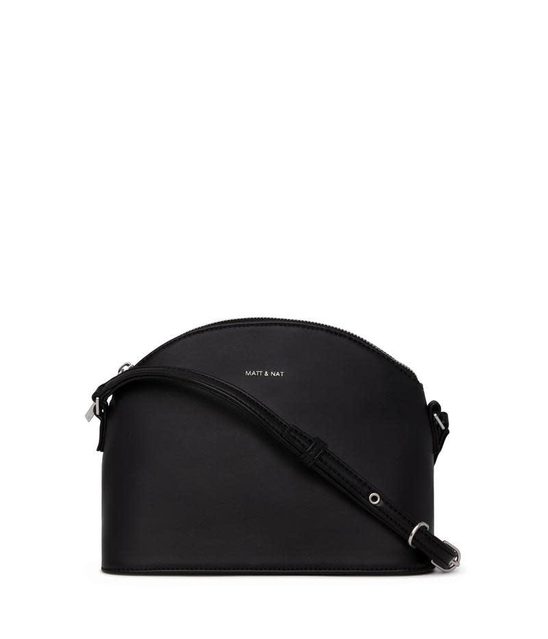 Leona Loom Crossbody Bag Black-1