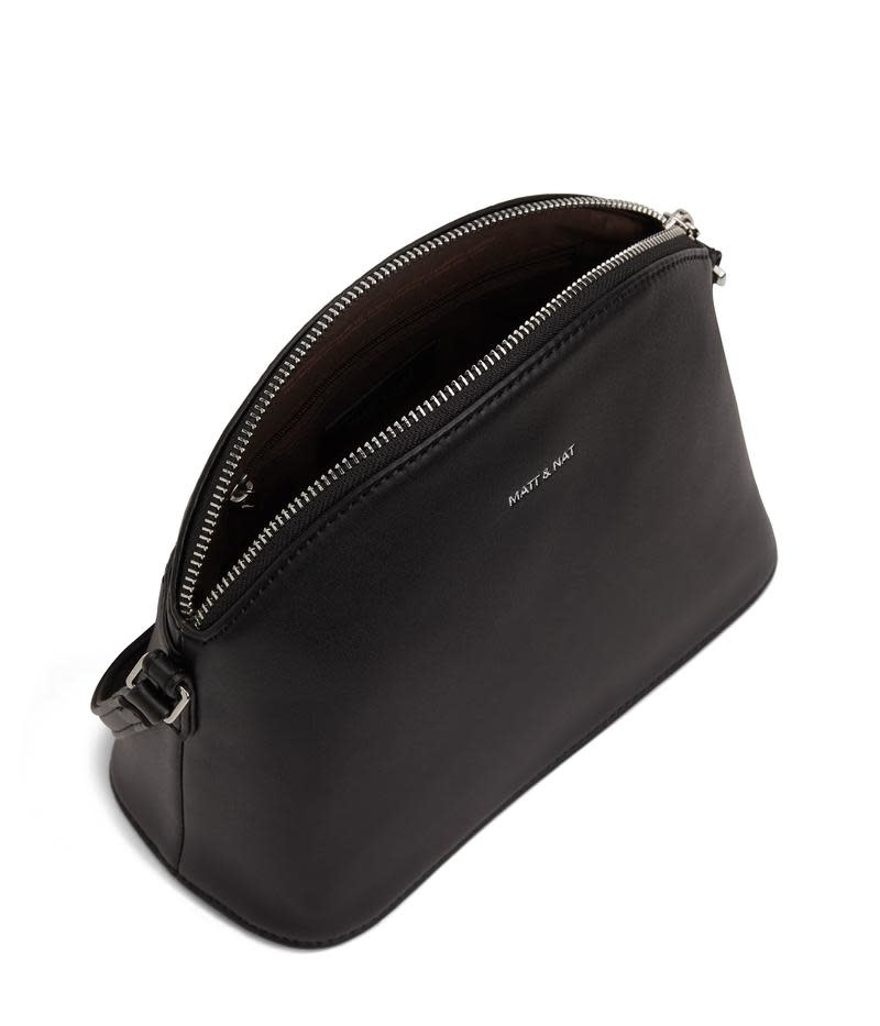 Leona Loom Crossbody Bag Black-2