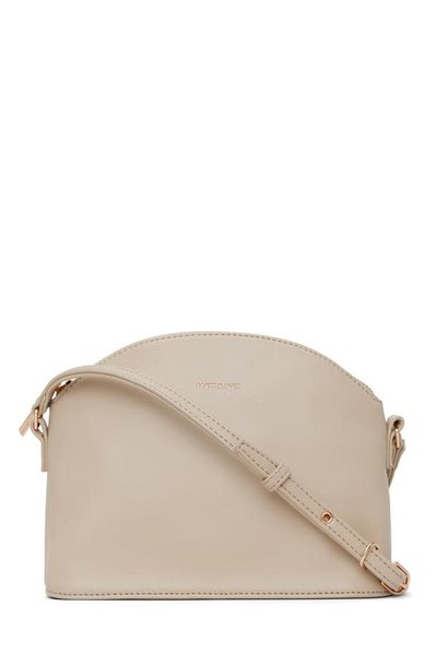 Leona Loom Crossbody Bag Veil White
